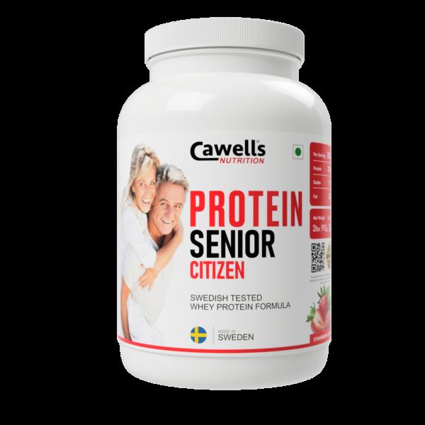 Senior Citizens Strawberry Protein